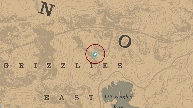 Legendary Bharati Grizzly Bear Location RDR2