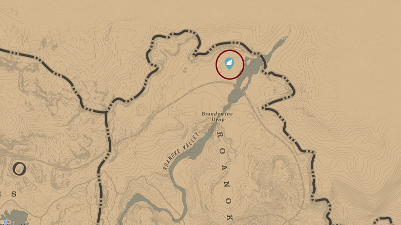 Legendary Moose Location RDR2