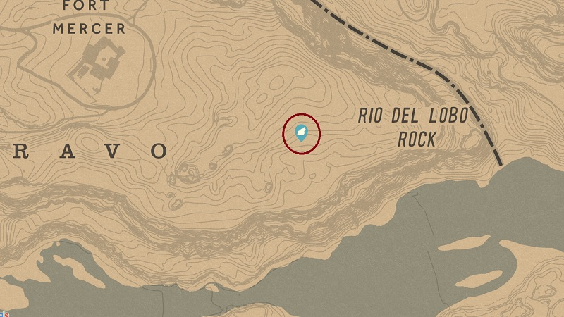 Legendary Pronghorn Location RDR2