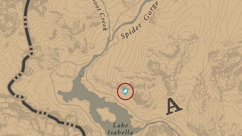 Legendary White Bison Location RDR2