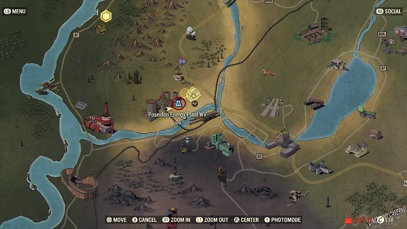 hazmat suit location Fallout 76