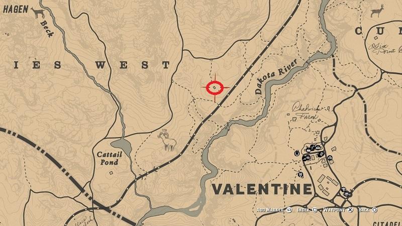 rdr 2 clawson rest shack location