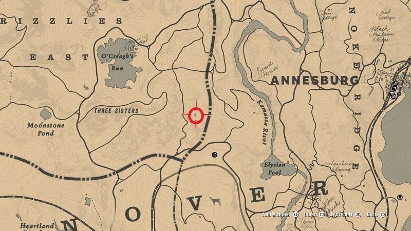 rdr 2 martha swain shack location