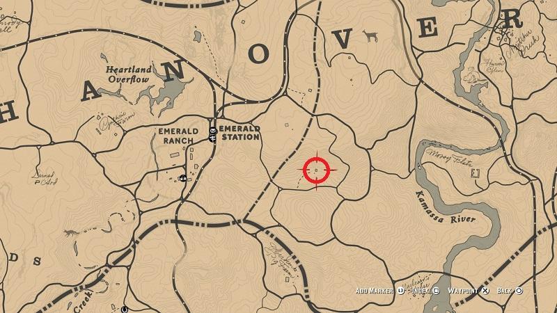 rdr 2 osman grove shack location