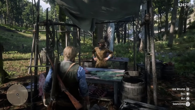 All 5 Trapper Locations Red Dead Redemption 2 Map Guide