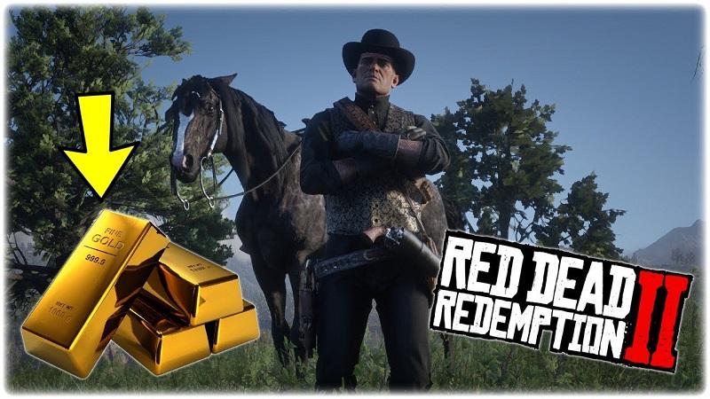 red dead redemption 2 gold bar