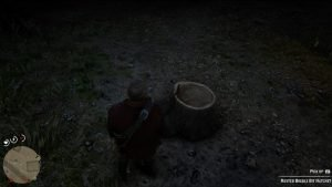 rusted double bit hatchet rdr 2 location