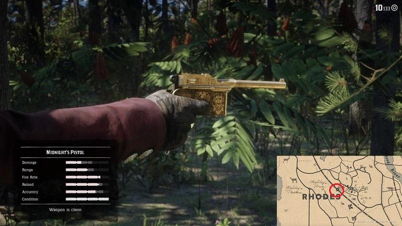 secret weapons location red dead redemption 2