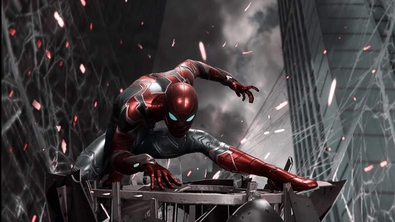 spider man ps4 update