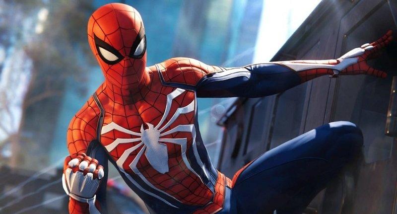 spider man ps4 web swinging