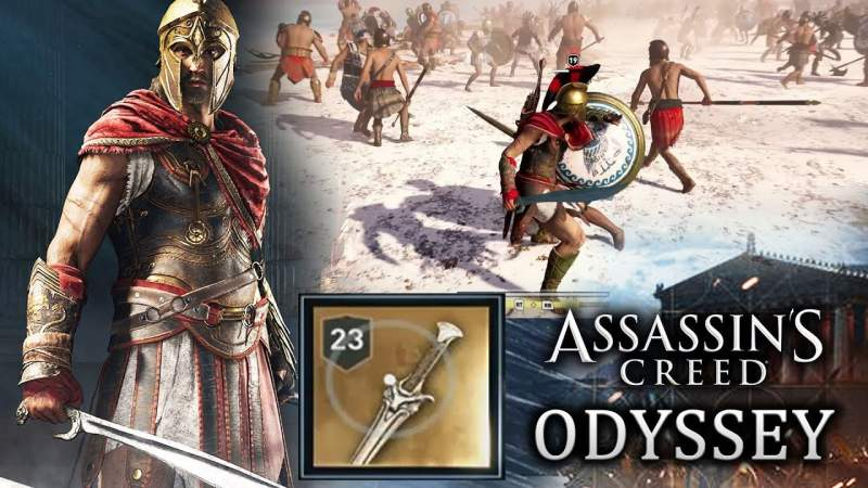 Assassin's Creed Odyssey powerful weapons