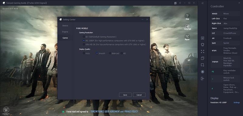 PUBG Tencent Emulator