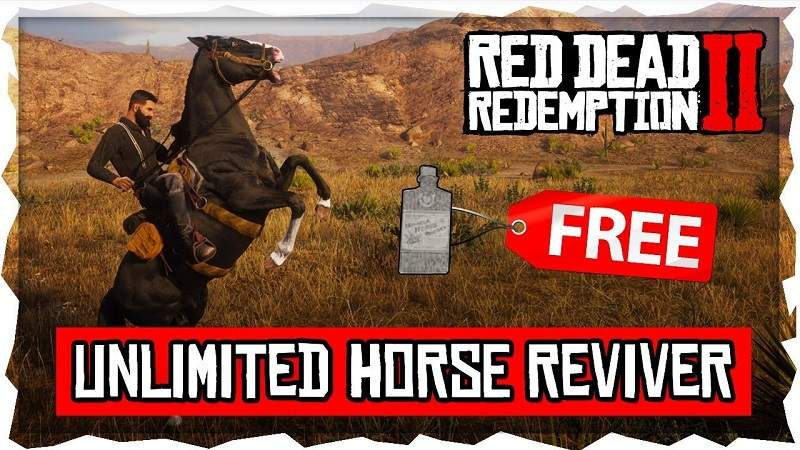 red dead online unlimited horse glitch