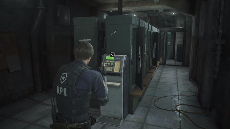 locker code resident evil 2