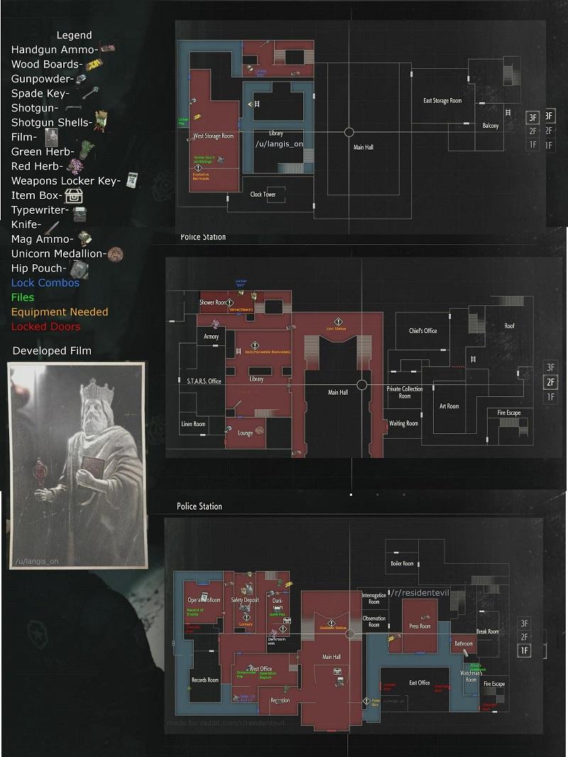 Resident Evil 2 Walkthrough: Complete 1-Shot Demo With