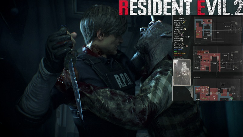 Image result for resident evil 2 1 shot demo