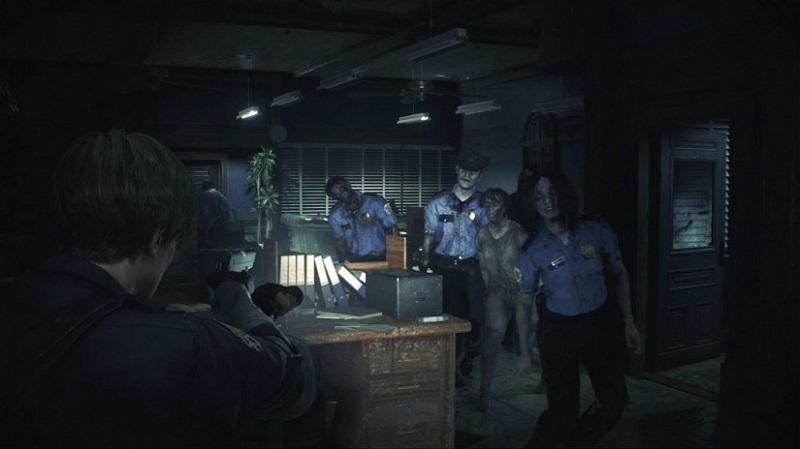 resident evil 2 remake dodge zombies