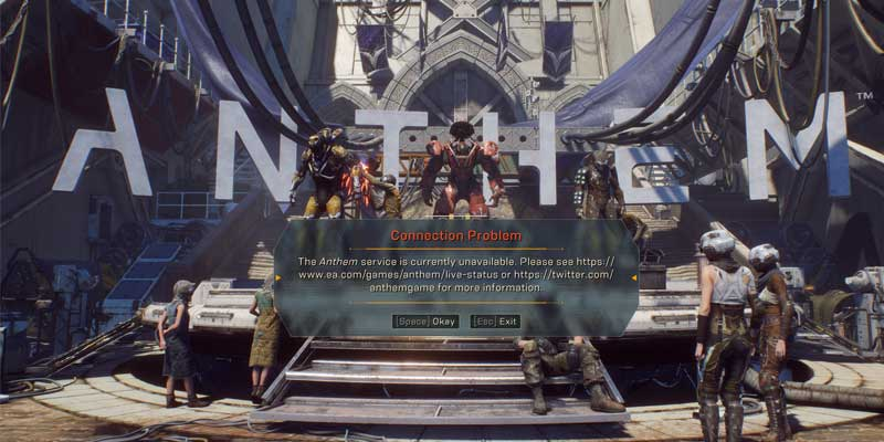 anthem-connection-issue