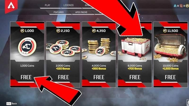 apex legends free apex coins unlock