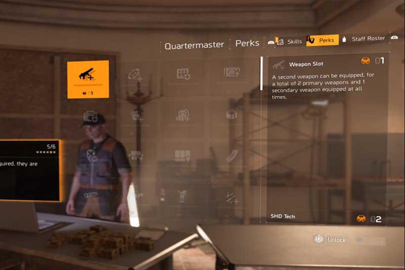 division-2-unlock-weapon-slot