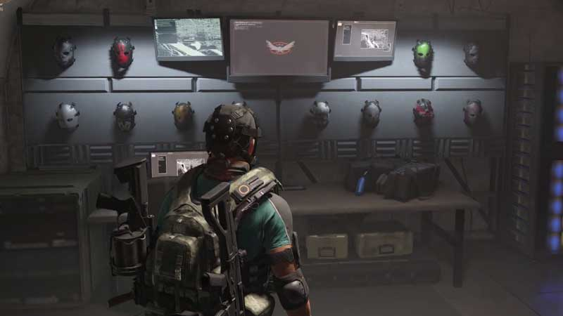 the division 2 hunter boss masks