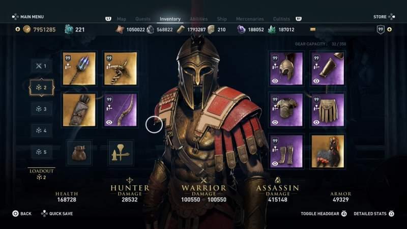 Assassin S Creed Odyssey Atlantis Dlc Ability Enhancements Unlock