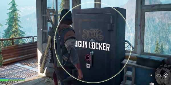 Days Gone How To Use Gun Locker