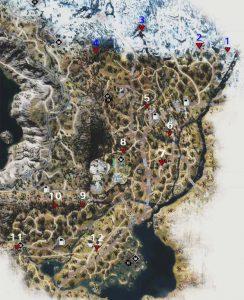 Days Gone Horde locations: Highway 97