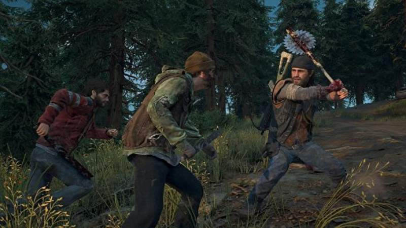 days gone melee weapons uses