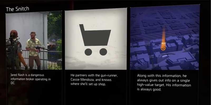 division-2-snitch-locations-jared-nash-secret-vendor-cassie-mendoza