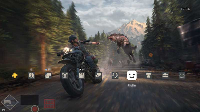 Download Days Gone Free PS4 Theme