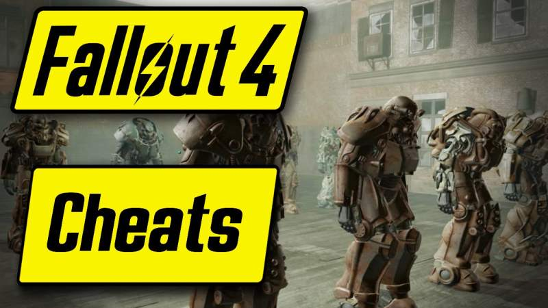 fallout 4 console commands cheats