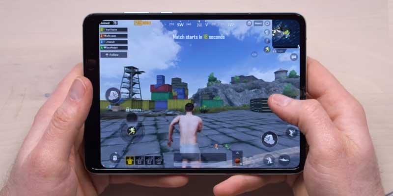 Samsung Galaxy Fold PUBG Video