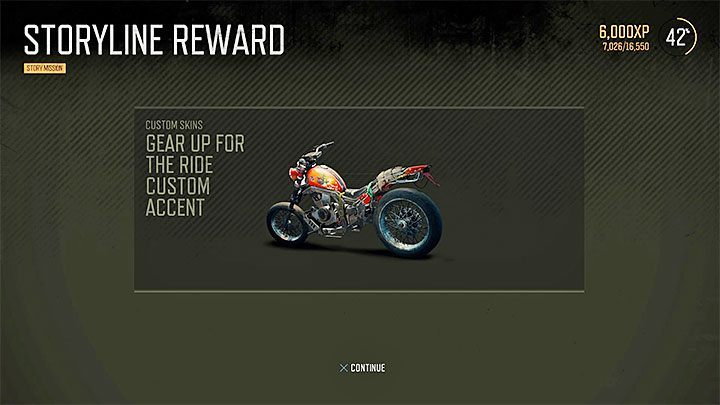 missions rewards days gone