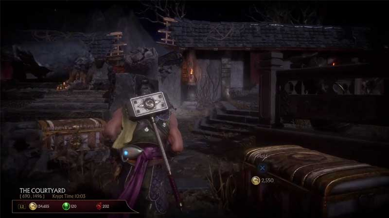 mk 11 krypt chest location