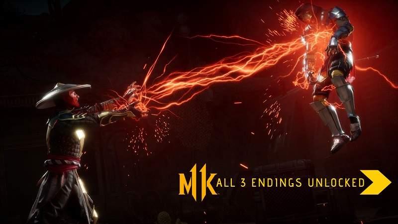 mk11 all endings unlocked