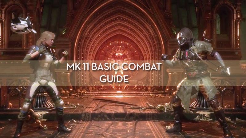 Mortal Kombat 11 Basic Combat Tutorial