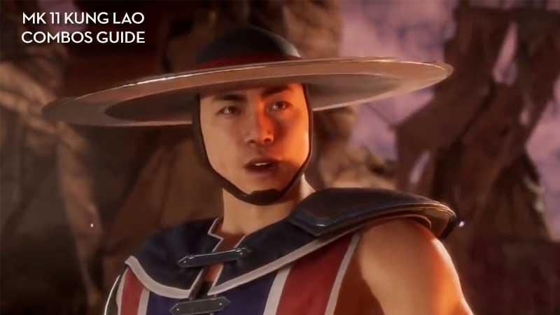 Kung Lao Combos Tutorial