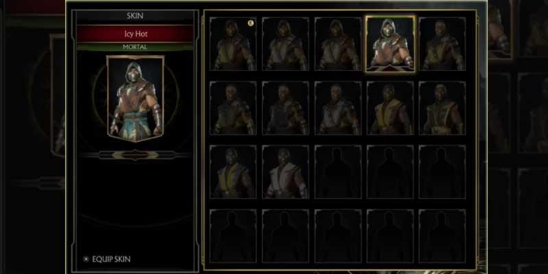 Customize Character In Mortal Kombat 11