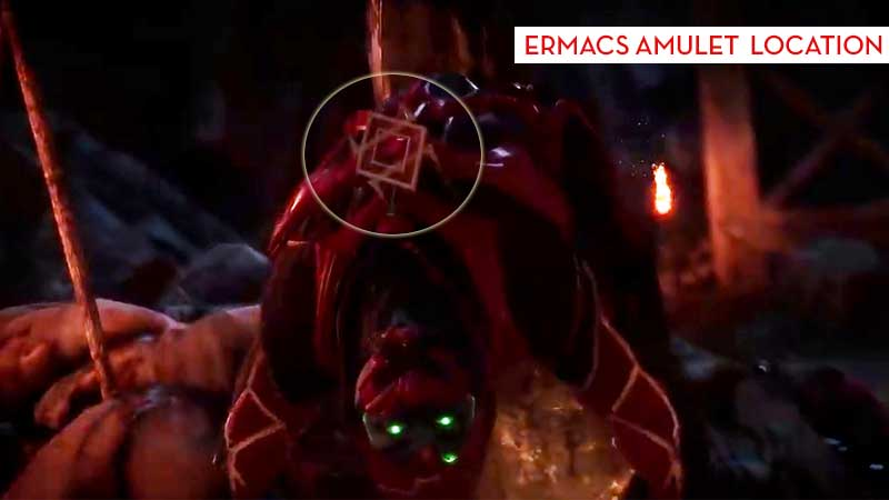 How To Get Ermacs Amulet Mortal Kombat 11