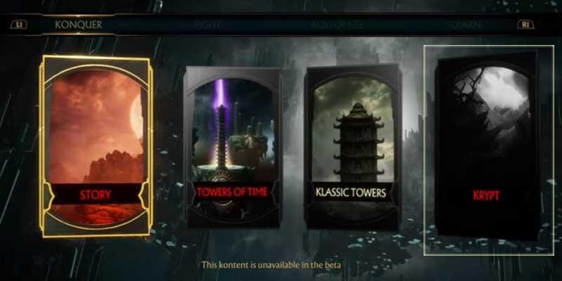 Mortal Kombat 11 Whats New In Krypt
