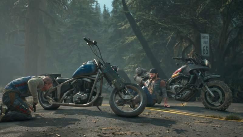 motorbike upgrade customize days gone