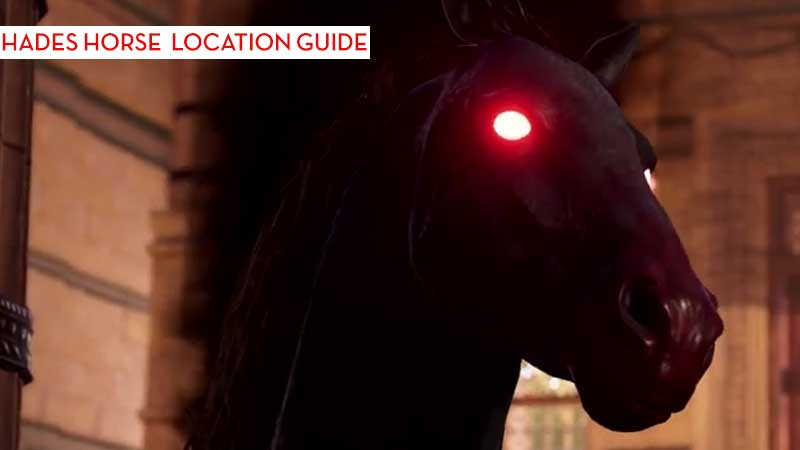 How To Find Hades Horse In Assassins Creed Odyssey Atlantis DLC