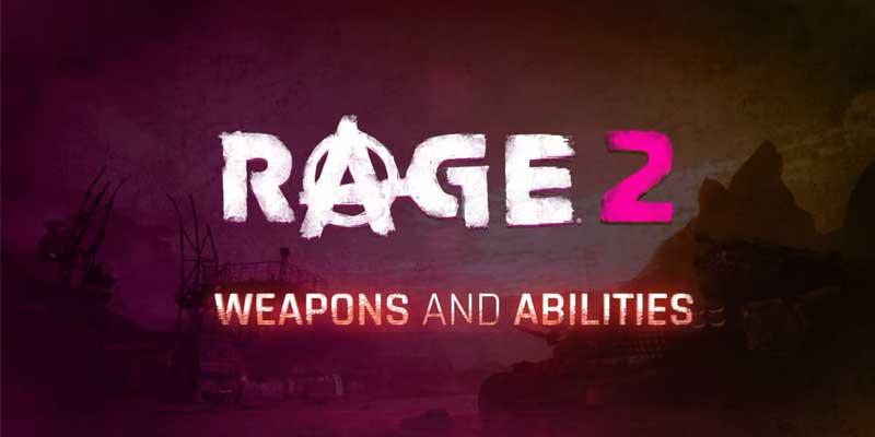 Rage 2 Weapon Trailer