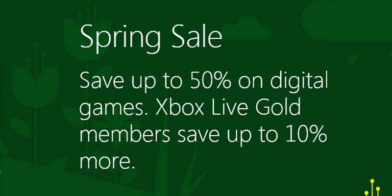 Xbox April Spring Sale 2019