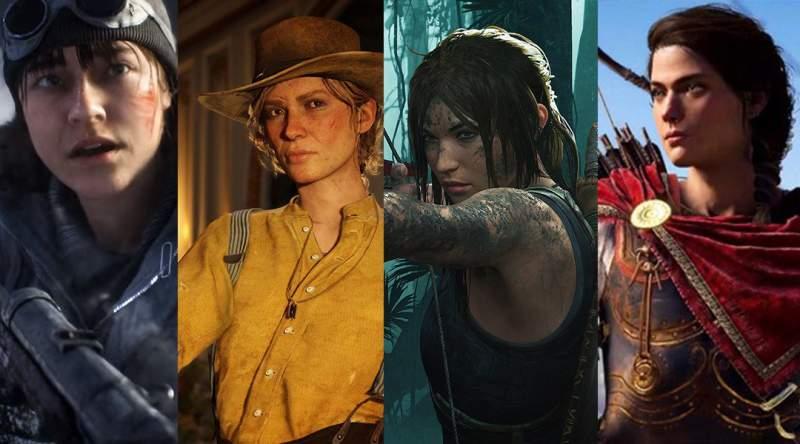 Marginalisation of women in video games