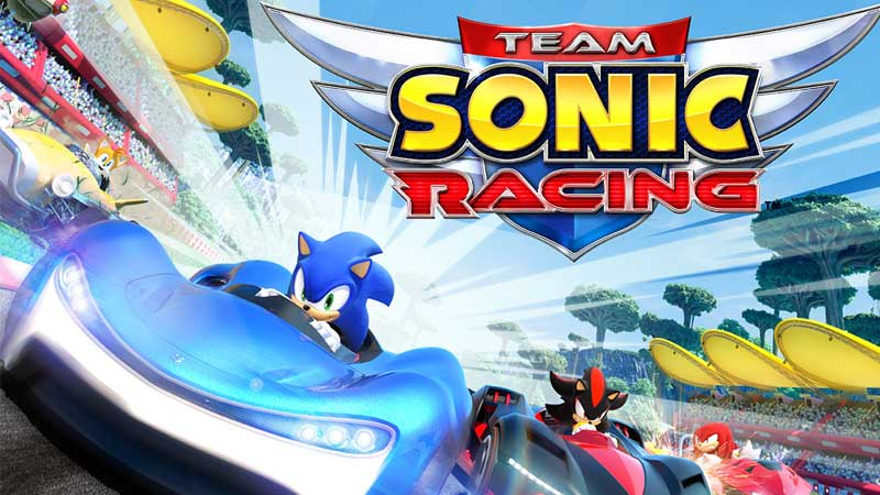 Team Sonic Racing All Characters