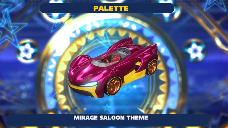 Customize Cars In Team Sonic Racing