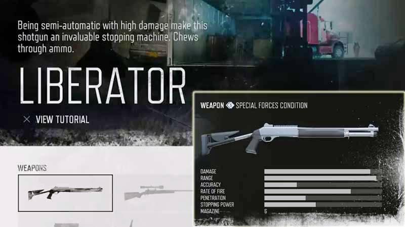 Days Gone Weapon List - Shotgun