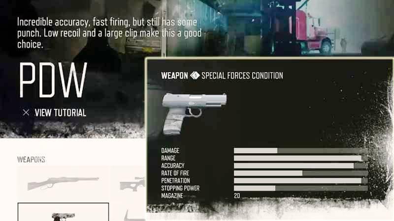 Days Gone Weapon List - Pistols